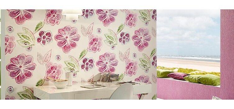 papel tapiz en la cocina