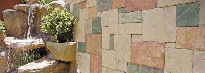 Agrega piedras a tus muros exteriores